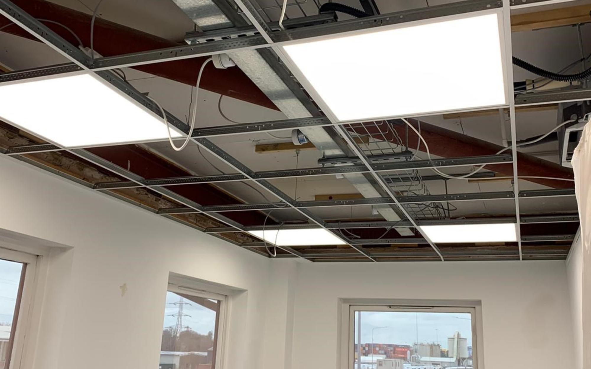 New LED ceiling lights